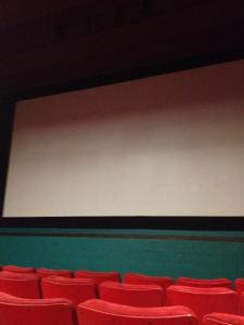opening screen